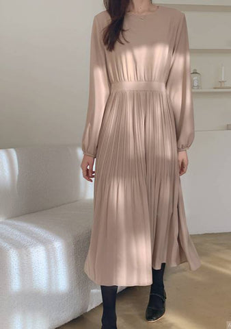 One Day In My Life Pleated Dress