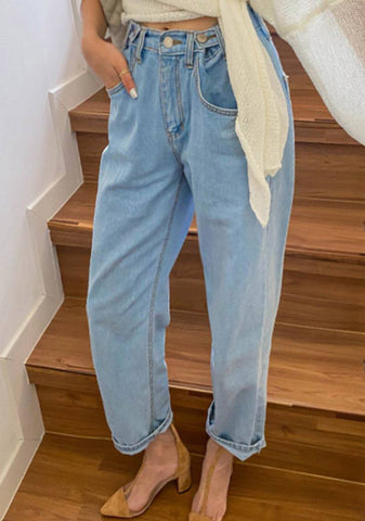 Every Day I Discover Denim Wide Jeans