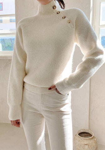 Winter Primrose Knit Top