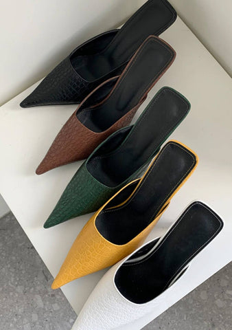 To Do Things For The Love Pointed Mules