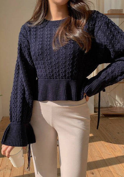 Addicted To You Puff Knit Sweater