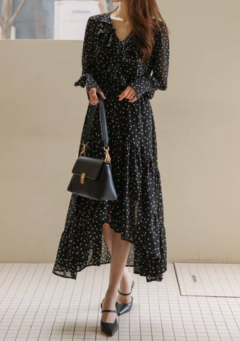 The Divine Feminine Dots Dress