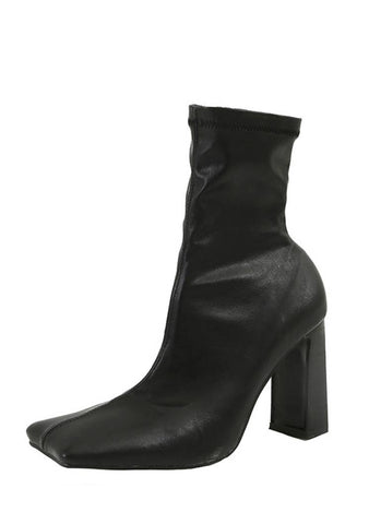 We Are Special Square Ankle Boots