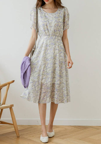 Time To Bloom Flower Dress