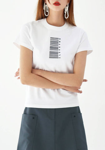 Barcode Color T-Shirt