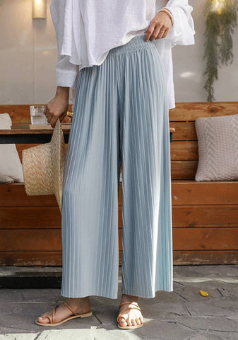 Missing Your Support Pleated Wide Pants