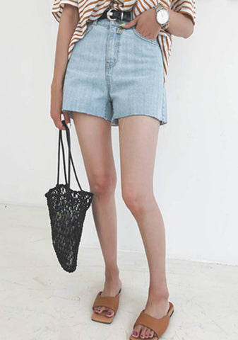 We Look To Someone Else Denim Shorts