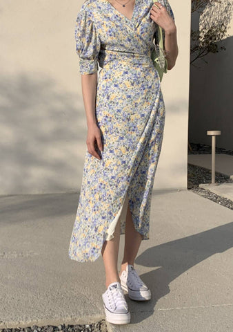 You Are My Flowers Person Long Dress
