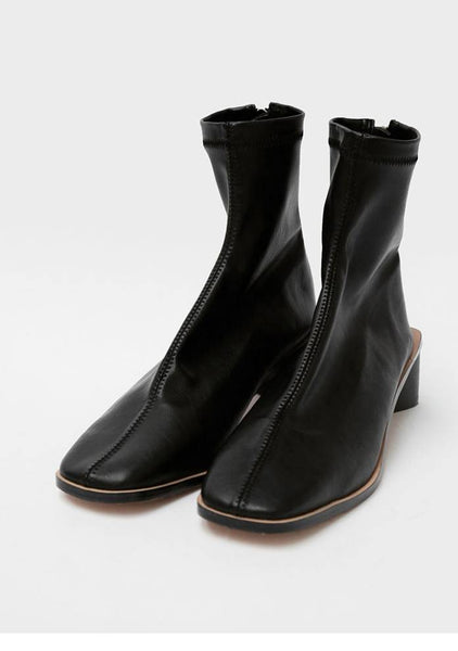 Unique Triangular Ankle Boots