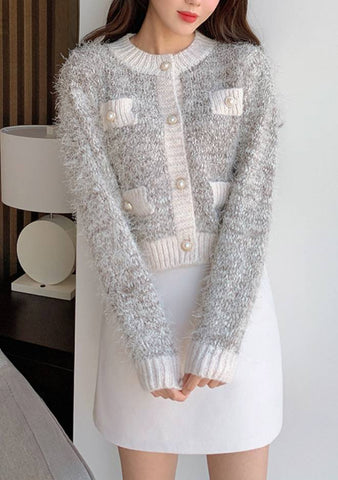 Marilyn Pearl Knit Cardigan
