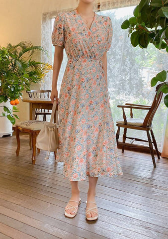 From Spring To Summer Wrap Dress