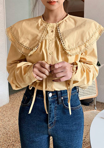 Piece Of Cake Collar Blouse