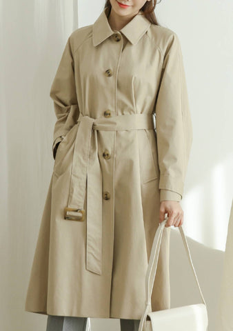 Color Of The Month Trench Coat