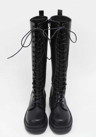 Things Girls Love To Hear Knee-High Boots