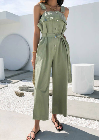 There Is Peace Overall Jumpsuit