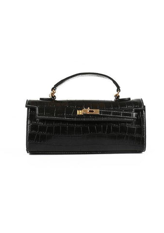 To Another Time Clutch Croc Bag
