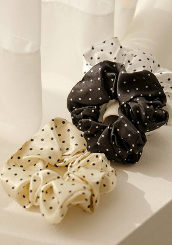 Sweet Home Dots Scrunchie