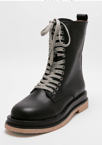Progressive Complications Tie-Up Boots