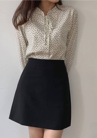 Good Things Are Coming Dots Blouse