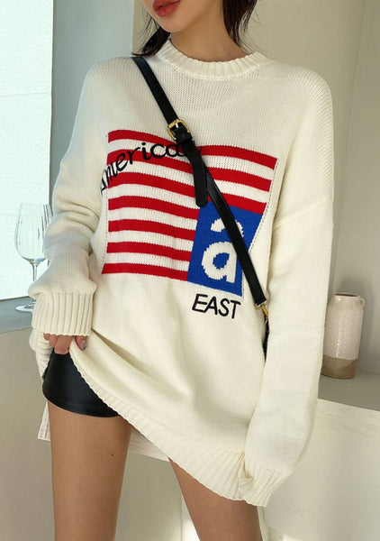From East To West Knit Sweater