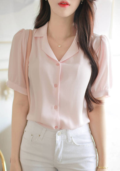 How To Do Button Blouse