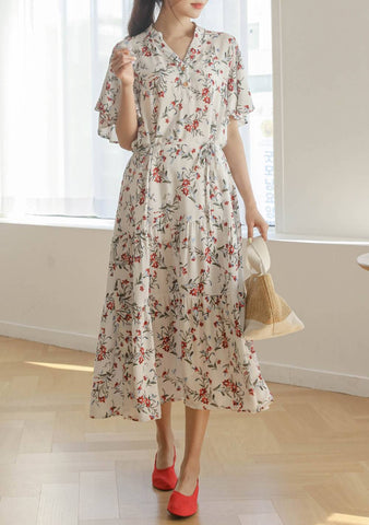 Beauty And Influences Flower Dress