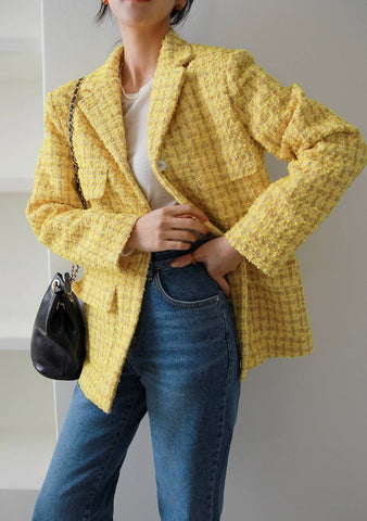 How Things Always Change Tweed Jacket