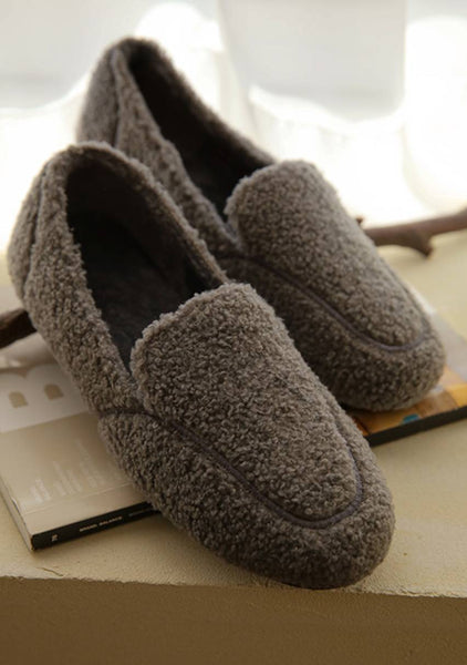 Good Relationship Fleece Loafers