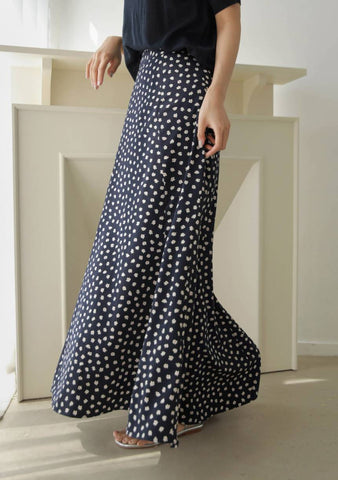 Natural Instincts Flowers Long Skirt