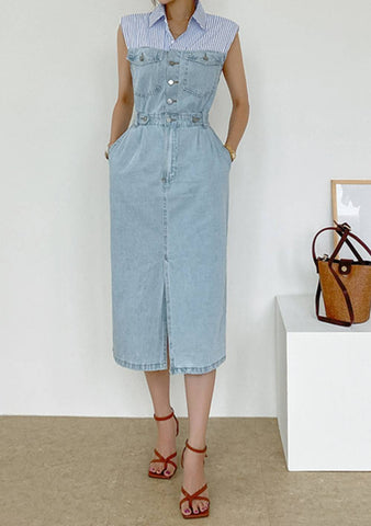 The Definition Of Beauty Denim Dress