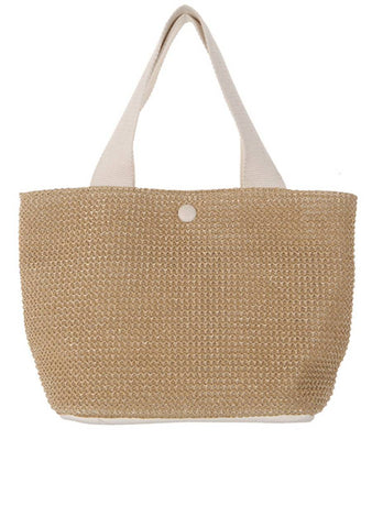Different But Fascinate Me Straw Bag