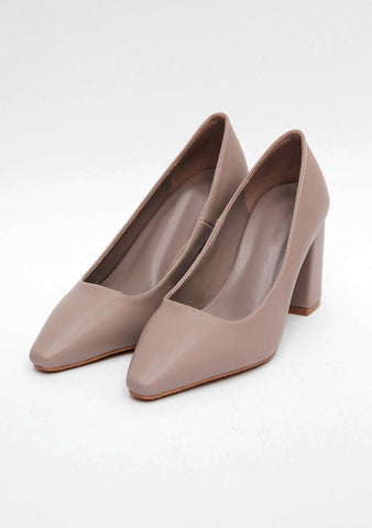 Pure And Simple Pointed Heels (7.5cm)