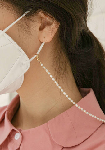 Pearls Mask Straps