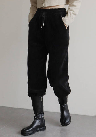 Opimo Corduroy Pants [Black]