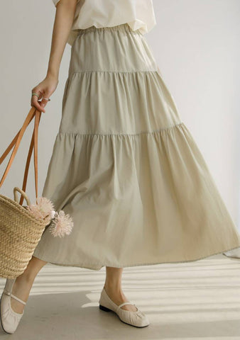 Learning The Difference Layered Skirt