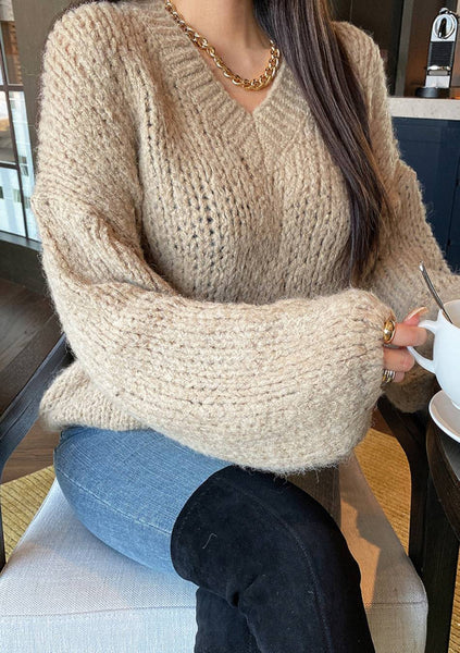 If I Could Change Your Mind Knit Sweater