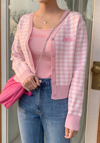 Barbie Diary. Pinkball Cardigan