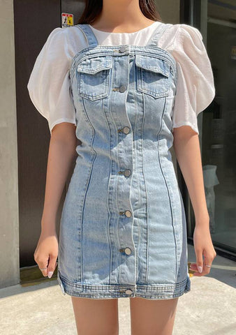 Smiling Season Denim Dress