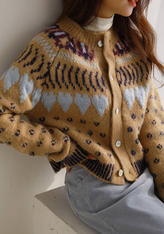 Heart To Heart Knit Cardigan