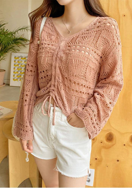 Tell Me What Will You Do Crochet Knit Top