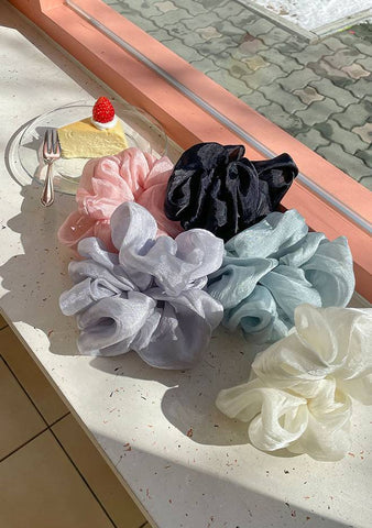 Pastel Wave Scrunchie