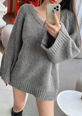 The World Could Be Mine Loose Knit Sweater