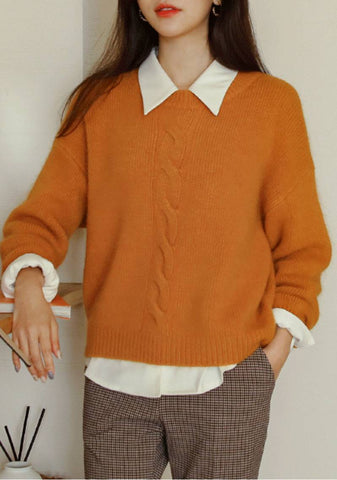 I Want You To Come Home Angora Knit Sweater