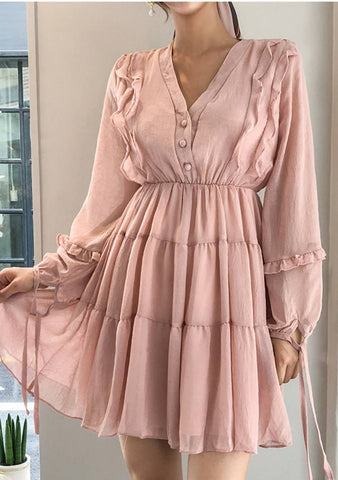 Tenderness Frill Dress