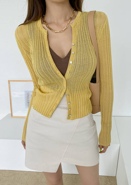 On Most Days Ribbed Cardigan