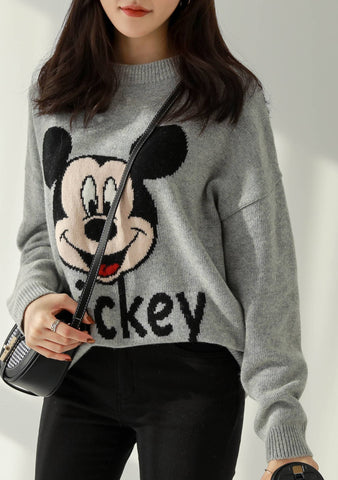 Love Mickey Knit Sweater