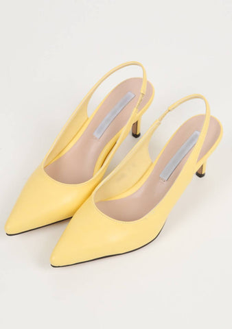 How Far Will I Go Pointed Slingback Shoes