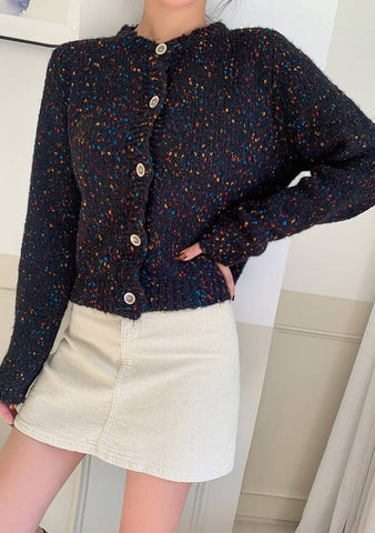 Hundred Of Little Stars Dots Cardigan