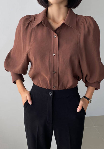 Storytelling Puff Blouse