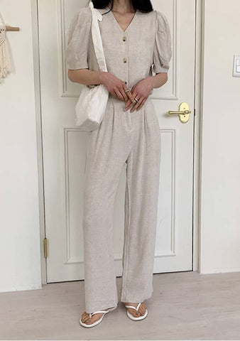 Whole Philosophy Blouse Slacks Set